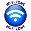 Stock Vector: Wi-Fi ZONE