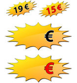 Price label — Stock Vector