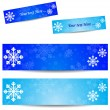 Stock Vector: Cold banner