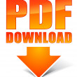 Pdf download icon — Grafika wektorowa
