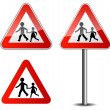 Childrens roadsign — Stock Vector #36278977