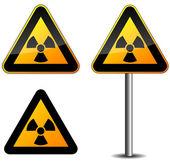 Radioaktiva tecken — Stockvektor