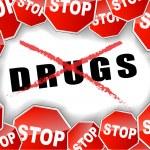 Постер, плакат: Stop drugs