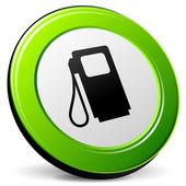 Vector fuel 3d icon — Stock Vector