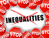Stop inequalities — Stock Vector