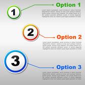 Seçenekler arka plan — Stok Vektör