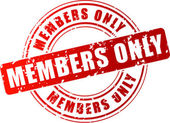 Vector members stamp — Stockvector
