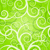 Vector green background — Stock Vector