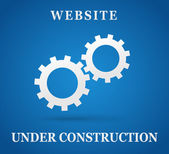 Website under construction page — Stock Vector