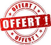 Vector discount stamp — Stock Vector