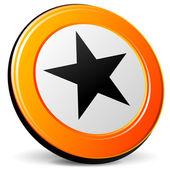Vector star icon — Stock Vector