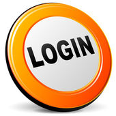 Vector login icon — Stock Vector