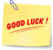Vector good luck message — Vecteur
