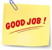 Vector good job message — Vecteur