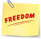 Vector freedom message — Vecteur