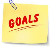 Vector goals message — Vecteur