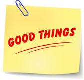 Vector good things message — Vecteur