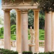 Park gazebo Italian style column. - Stock Photo