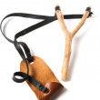 Stock Photo: Slingshot on white background