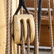 Stockfoto: Boat pulley