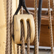 Foto de Stock  : Boat pulley
