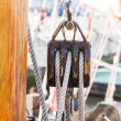 Boat pulley — Stockfoto #41357755