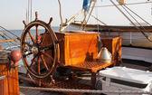 Gemi tekerlek — Stok fotoğraf