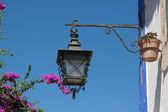 Grön lampa — Stockfoto