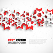 Abstract 3D Geometrical Design — Wektor stockowy