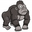 Gorilla Cartoon — Stock Vector