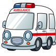 Ambulance vector — Stock Vector