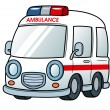 Ambulance vector — Stock Vector #28937415