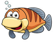Cartoon fish — Vettoriale Stock