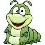 Cartoon worm — Stock Vector #29039917