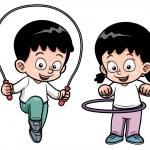 Дети осуществлять — Cтоковый вектор