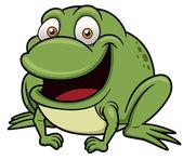 Frog cartoon — Stock Vector