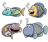 海水鱼套 — 图库矢量图片