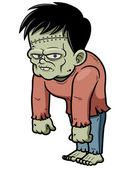 Cartoon zombie — Stock Vector