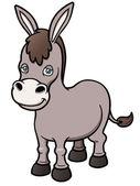 Cartoon burro — Stock Vector