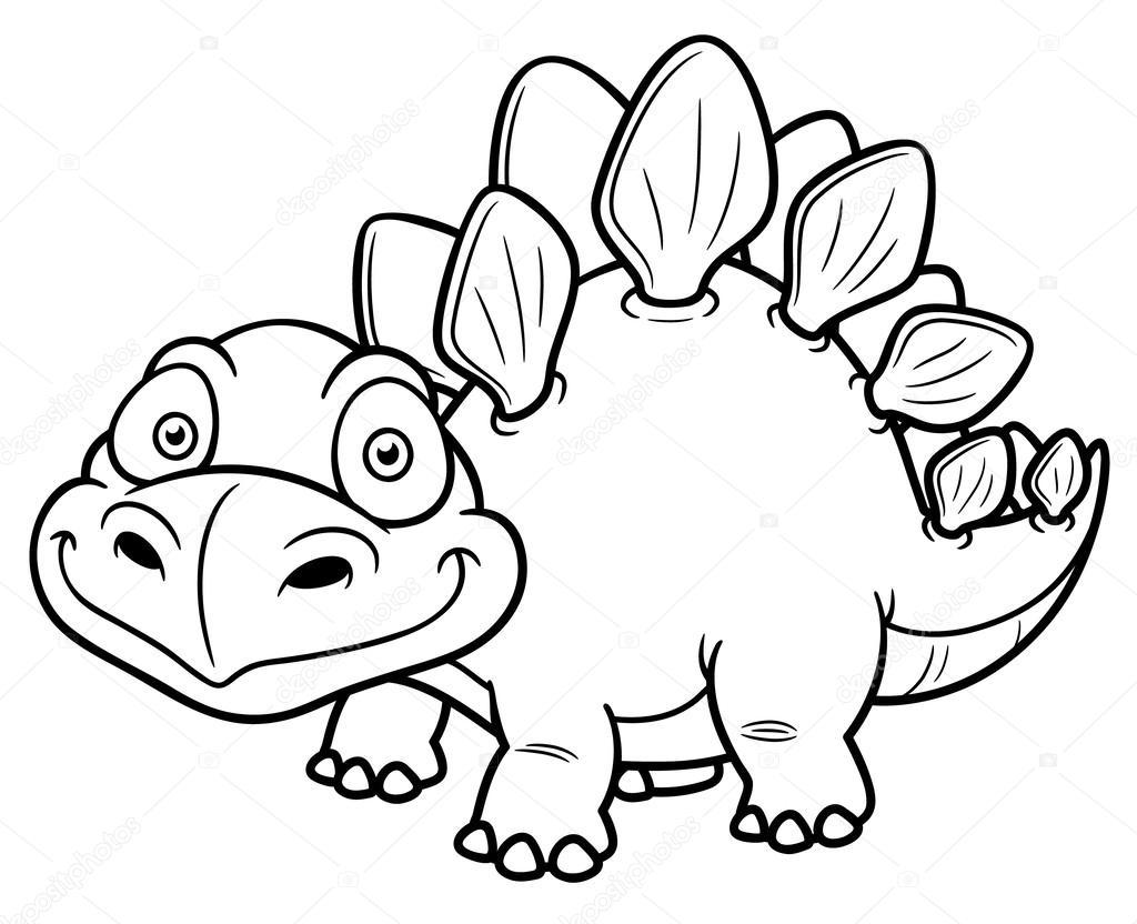 Раскраска динозавры мульт