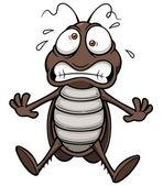 Cartoon cockroach — Wektor stockowy