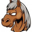 Head Horse — Stock Vector