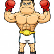 Boxing champion — Stockvector #40647093