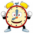 Cartoon alarm clock — Stock Vector #42536181