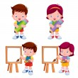 Kids — Stock Vector #42580891