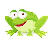 緑のカエル — ストックベクタ