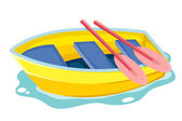Boat — Stock Vector