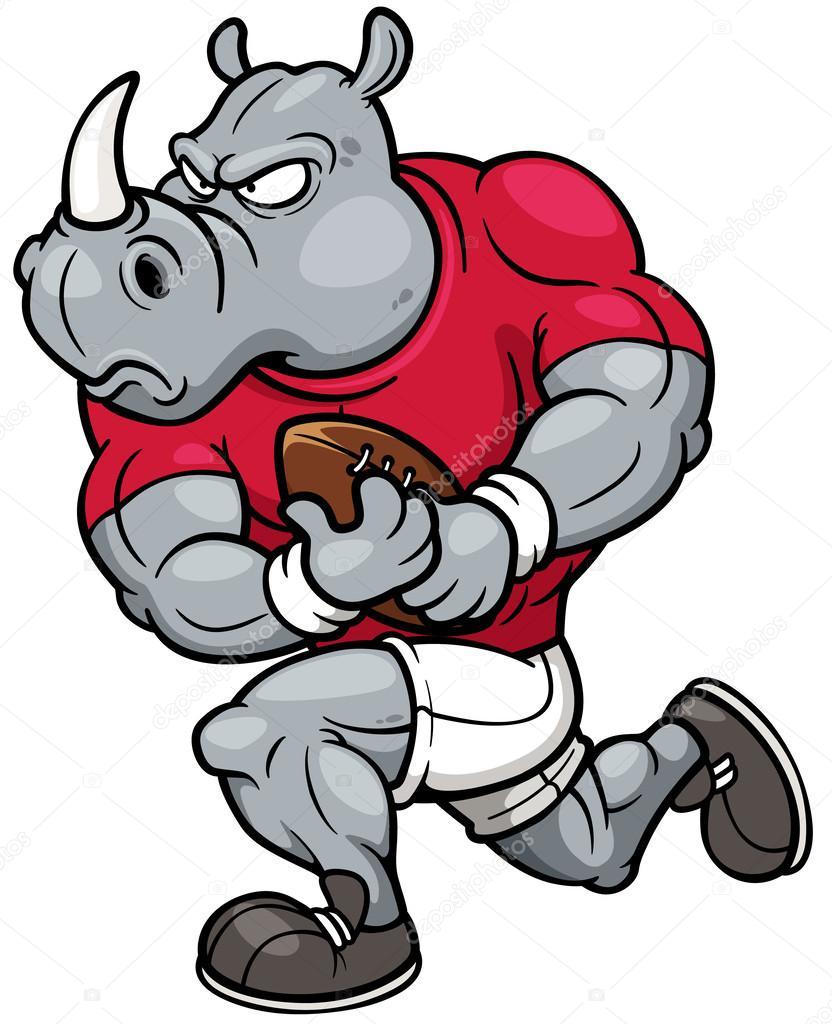 Joueur de rugby de dessin anim image vectorielle sararoom 44322359 - Dessin de joueur de rugby ...