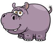 Hippopotamus — Stock Vector