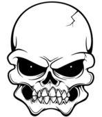 Cranio — Vettoriale Stock